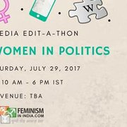 Indian Women In Politics: Wikipedia Edit-a-thon